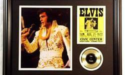 $50 Elvis Presley Two Giclees & event ticket
