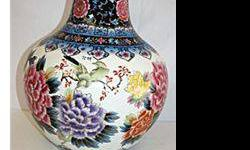 $50 Fine Nippon Procelain Vase with Mural