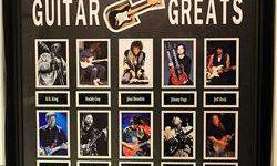 $50 Framed Guitar Greats