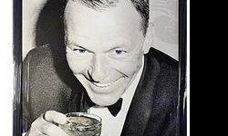$50 Frank Sinatra Giclee on Canvas
