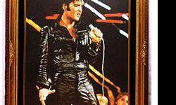 $50 Giclee Giclee on Canvas of Elvis Presley