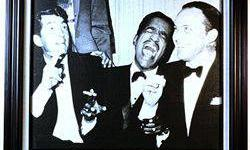 $50 Giclee Giclee on Canvas of the RAT PACK