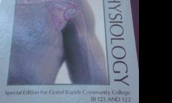 $50 GRCC BI 121 and BI 122 Anatomy and Physiology book