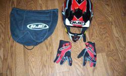 $50 Hjc Ac-X2 Moto Cross / Atv Helmet- Never Worn- with