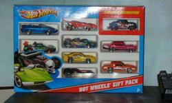 $50 Hot Wheels unopened 9 car exclusive gift pack error's