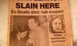 $50 John Lennon Daily News