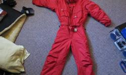 $50 Killi Mens 2XL SnowSuit In Red. Made In France........