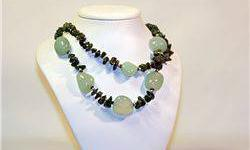 "$50 Lady's Fancy ""All Natural Stones"" Rare Siberian Jade"