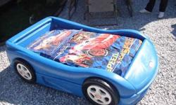 $50 Little Tykes Hotwheel Toddler Bed with Mattress and CARS
