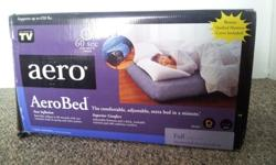 $50 OBO AeroBed Full-size Inflatable Bed