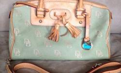 $50 OBO Dooney and Bourke womens stylish signature DB green