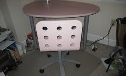 $50 OBO IKEA Pink Desk/Table and Chair