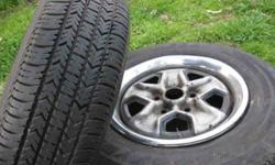 "$50 pair of 13"" goodyear tires 185/80 R13"