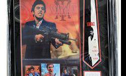 $50 Rare Framed Scarface Collage