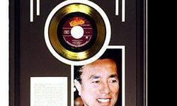 $50 Smokey Robinson Giclee with Gold Record