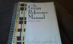 $50 The Gregg Reference Manual