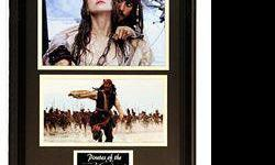 $50 Two movie stills from Pirates of The Caribbean