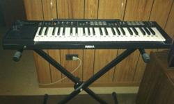 $50 Yamaha PSR-11 Electric Keyboard and stand