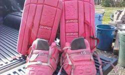 $50 Youth Field Hockey Goalie equipment