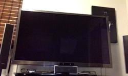 "51"" Samsung 3D Smart TV w/ 5 Glasses + Playstation Vita W/"