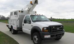 $54,900 Versalift TEL29NE / 2006 Ford F450 Cable Splicing