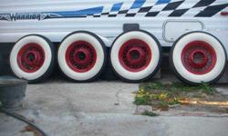 $550 1932 Packard, Chevy, Buick, Cadillac White Wall Tires &