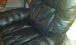 $550 Leather Recliner - used
