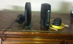 $55 OBO Motorola Cable Modem and Belkin WIreless Router