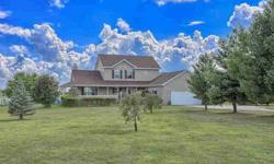 573 2600 N Mahomet Four BR, Fabulous 1.5 story home situated