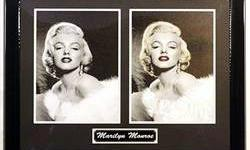 $594 Marilyn Monroe Giclee on Canvas