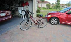 $59 Huffy 27' 18 speed Bike