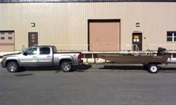 $5,000 16' boat with GoDevil and trailer
