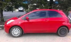 $5,000 OBO Red 2007 Toyota Yaris 2D Hatchback 78886mi