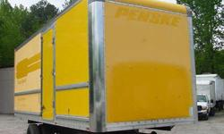 $5,100 24 x 103 x 102 used truck body for sale, 2003 Morgan
