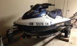$5,100 OBO 2005 GTX Supercharged Seadoo w/ Trailer and two
