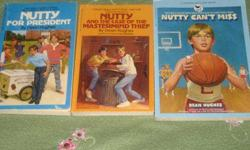 "$5 3 Book ""Nutty"" Series by Dean Hughes"