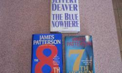 $5 3 Books- 7th Heaven, 8th Confession and The Blue Nowhere