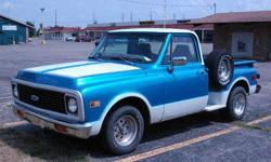 $5,500 1971 Chevy Truck Restoration Dream