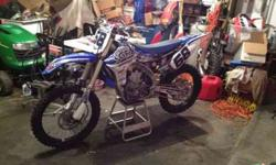 $5,500 2011 Yamaha YZ450F Low Hours (Goodrich, MI)