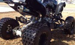 $5,500 2012 loaded Yamaha Raptor 700 S.E. (Palmer)