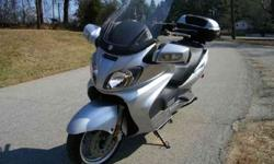 $5,500 Used 2005 Suzuki Burgman 650 for sale.