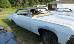 $5,800 1967 Chevy Impala 4 door Hardtop Chevrolet Project