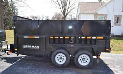 $5,900 2013 Bri-Mar Dump Trailer