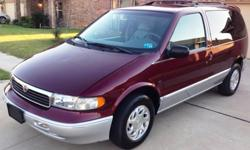 $5,987 OBO 1998 Mercury VIllager Limited Edition (25K Miles)