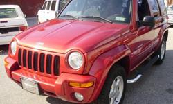 $5,990 2002 Jeep Liberty ?Limited Edition? 4x4