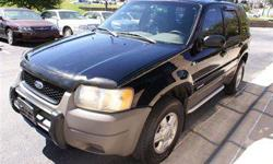 $5,995 Used 2001 Ford Escape XLS 4x4 SUV, 110,151 miles
