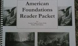 $5 BYU-Idaho book: American Foundations Reader Packet 2009