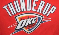 $5 Oklahoma City Thunder t-shirts