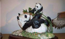 $5 Pride and Joy by D. J. Shinn - Giant Panda and Baby