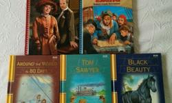 5 Treasury of Illustrated Classic Books for Young Readers